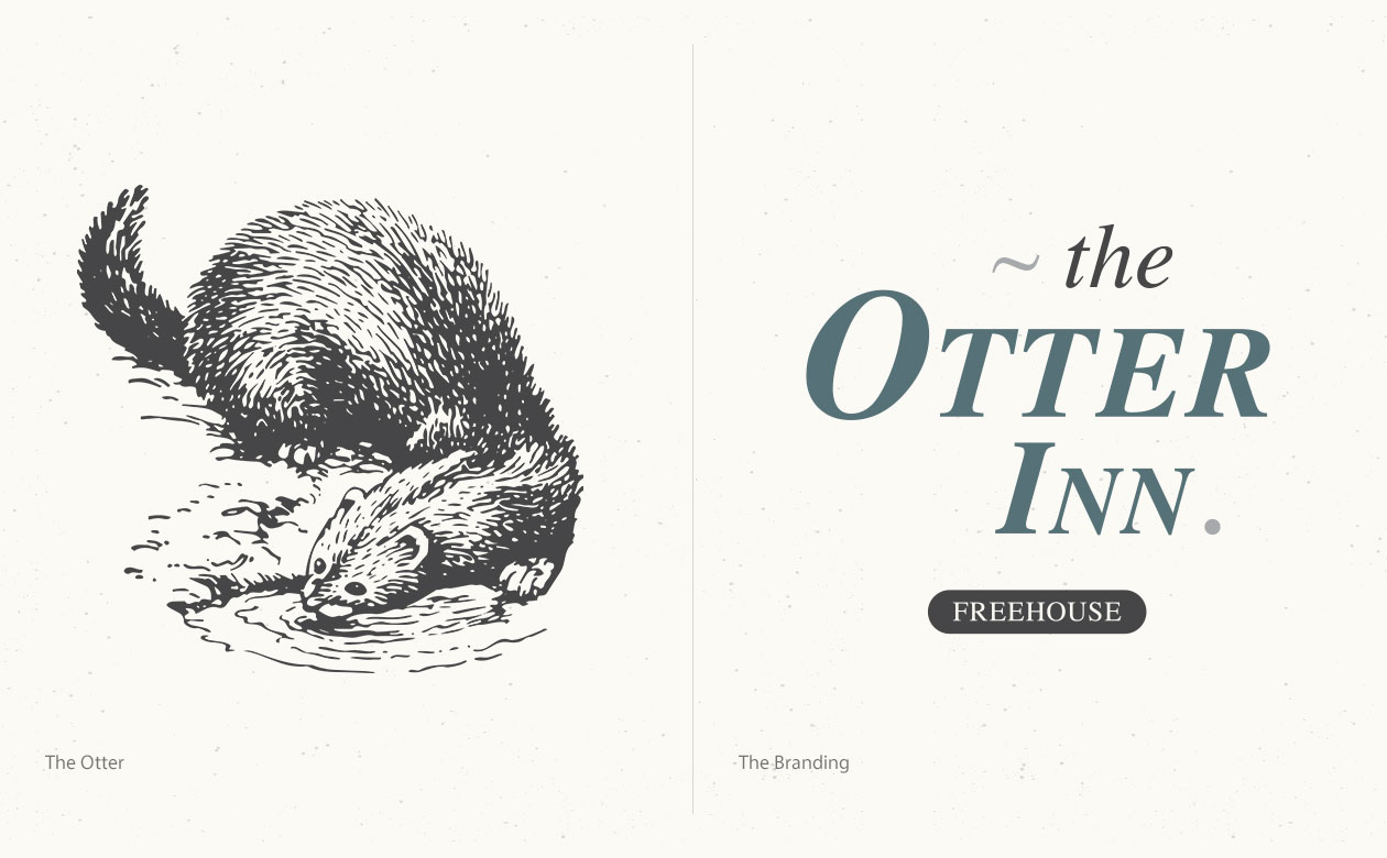 The Otter Inn - Branding
