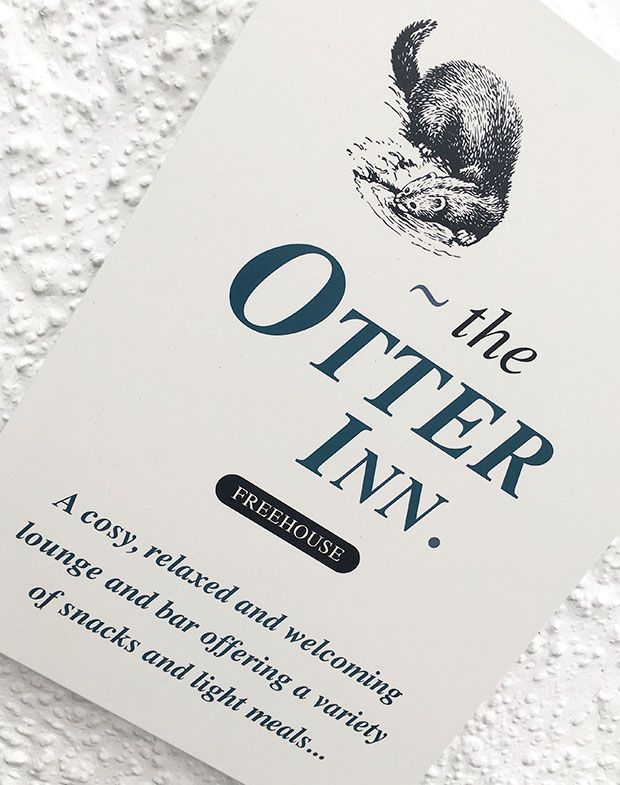 The Otter Inn - Card