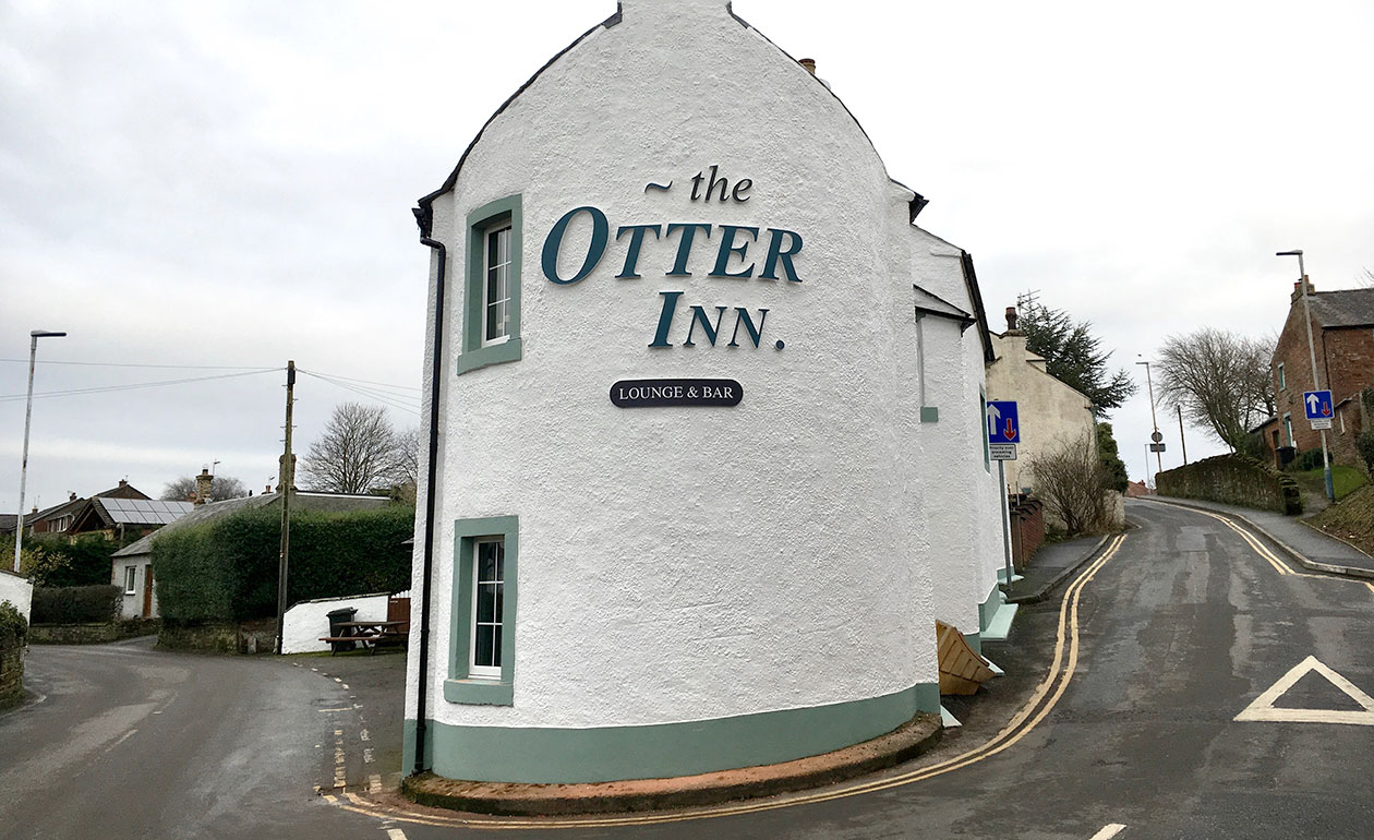 The Otter Inn - Exterior Signage